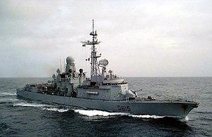 Cassard-class frigate - Image: FS Jean Bart 1