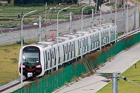 FZMTR Line 1 Train at Xindian Rail Yard.jpg