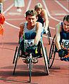 Fabian Blattman at the Atlanta 1996 Paralympic Games.jpg