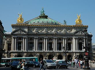 Beaux-Arts architecture - The Palais Garnier (1861–1875), an example of Second Empire Beaux Arts style, typically employing Neo-Baroque decorative elements