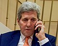Face detail, Secretary Kerry Calls IAEA Director General Amano to Thank Him For Work on Iran Nuclear Deal Implementation (23789751044) (cropped).jpg