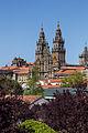 Fachada do Obradoiro desde a Alameda. Catedral de Santiago de Compostela.jpg