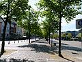 Fahrradweg auf dem Grossflecken Neumünster.JPG