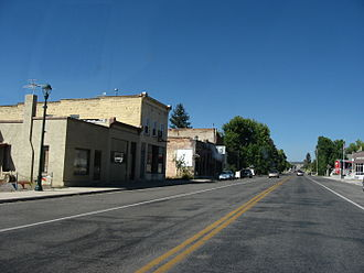 Fairview, Utah - Looking north along State Street (US‑89) in Fairview, September 2010