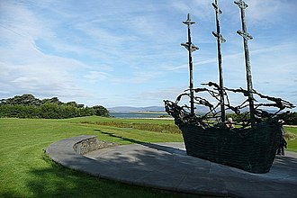Coffin ship - Famine national monument at Murrisk