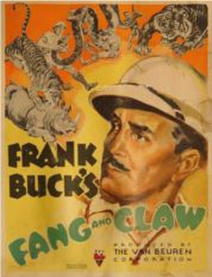 Fang and Claw - Theatrical poster