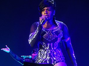 Fantasia Barrino - Fantasia performing in Cincinnati, February 2017