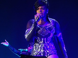 Fantasia Barrino - Barrino performing in Cincinnati, February 2017