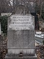 Farkasréti Jewish cemetery. Mrs Margit de Luca di Giovanni, 1928. - Budapest.JPG