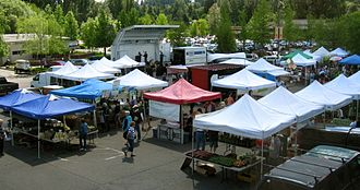 Lake Forest Park, Washington - Lake Forest Park Town Center and Farmers' Market