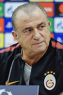 Fatih Terim Turkish footballer and manager