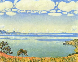 Chexbres - Lake Geneva seen from Chexbres (Ferdinand Hodler, 1905)
