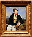 Ferdinand georg waldmüller, l'attore maximilian korn in un paesaggio, 1828.jpg