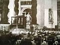 Feretro papa Benedetto XV 1922.jpg