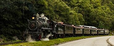 Railway Arriving In Skagway