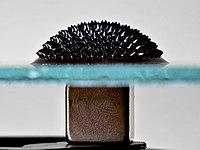 Ferrofluid Magnet under glass edit.jpg