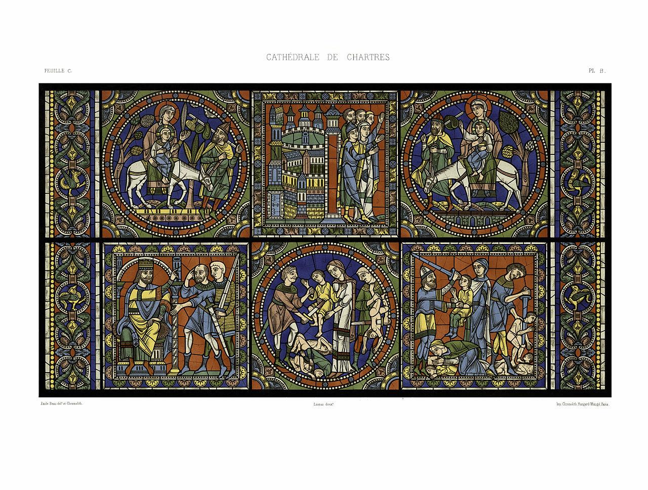 Filefeuille C Monografie De La Cathedrale De Chartres