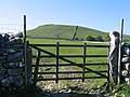 Field Gate and view to Cawden - geograph.org.uk - 505673.jpg