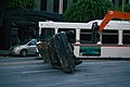 Filming a disaster scene at Wilshire and Hope in Los Angeles, California 03.jpg