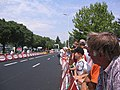 Finish area in Montpellier Tour de France 2005.jpg