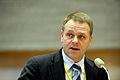 Finlands nordiska samarbetsminister, Jan Vapaavuori, pa Nordiska radets session i Stockholm 2009.jpg