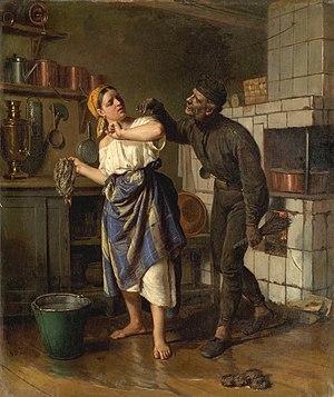 Firs Zhuravlev - Image: Firs Zhuravlev Chimney sweep