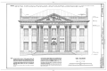 First Bank of the United States, 120 South Third Street, Philadelphia, Philadelphia County, PA HABS PA,51-PHILA,235- (sheet 1 of 1).png