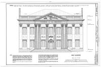 Měřený výkres s měřítkem, popis stavebních materiálů a poznámky.