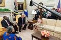 First Lady Melania Trump and Mrs. Kenyatta (30464127288).jpg