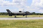 First full Marine maintenance F-35B Lightning II takeoff 140904-M-NT332-929.jpg