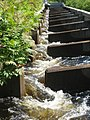 Fish ladders in Oulu Finland (in Finnish kalaportaat).jpg