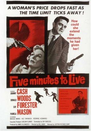Five Minutes to Live - Theatrical release poster