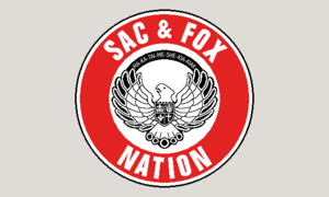 Sac and Fox Nation - Image: Flag of the Sac & Fox Nation of Oklahoma