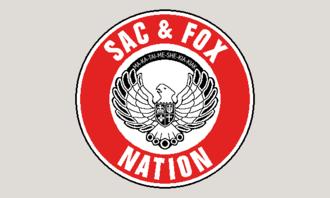 Sac and Fox Nation - Image: Flag of the Sac & Fox Nation of Oklahoma