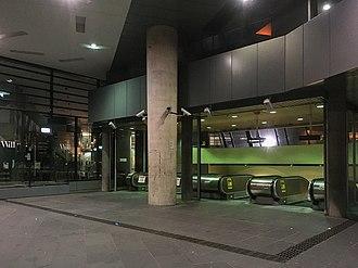 Flagstaff railway station - Station Entrance