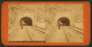 Flat Rock Tunnel - Stereo pair view