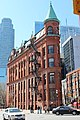 Flatiron building (also known as the Gooderham Building) in Toronto.jpg