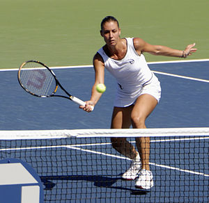 Flavia Pennetta - Pennetta at the 2009 US Open