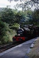 Fletcher Jennings 0-4-2ST 42 of 1864, Talyllyn Railway No.1 'Talyllyn' Dolgoch 9.8.1994 Scans978 (10759582503).jpg