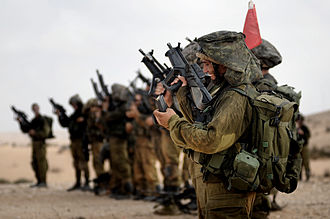Givati Brigade - The Reconnaissance Company of the Givati Brigade during an exercise, 2009