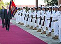 Flickr - Official U.S. Navy Imagery - SECNAV receives honors from the Royal Cambodian Navy..jpg