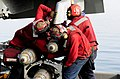 Flickr - Official U.S. Navy Imagery - Sailors emove ordnance from an F-A-18C Hornet..jpg