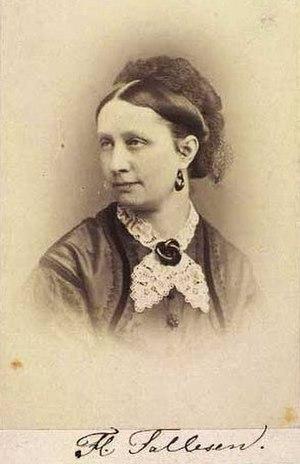 Edvard Fallesen - Danish actress Flora Falleson (1832–1900), Falleson's second wife
