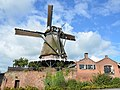"Flourmill ""Falcon"" at Montfoort in full glory with sails to catch the wind - panoramio.jpg"