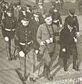 Floyd Gibbons-28-Sep-1918 approaching to receive Croix de Guerre.jpg