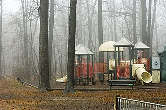 Garwood, New Jersey - A local park in Garwood