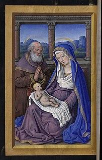 Holy Family Jesus, Mary and Saint Joseph