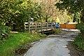 Footbridge by intermittent ford - geograph.org.uk - 968450.jpg