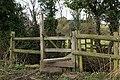 Footbridge over a stream - geograph.org.uk - 358573.jpg