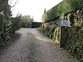 Footpath exit from Stile Farm Cottage - geograph.org.uk - 1184817.jpg
